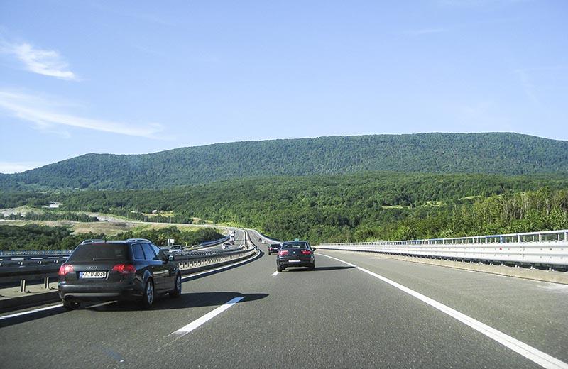 A2 mellan Österrike och Ljubljana
