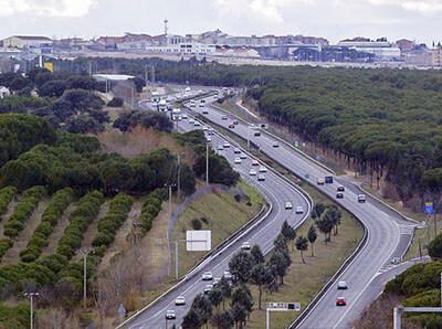 Motorväg i Spanien