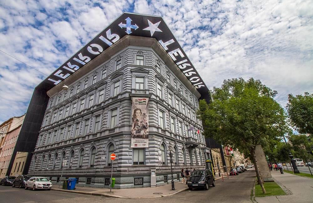 Terrorns hus i Budapest