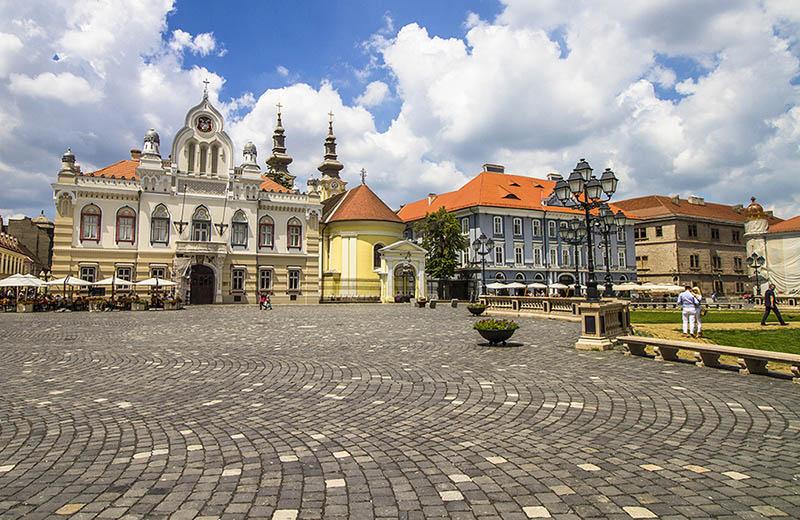 Piața Unirii i Timisoara