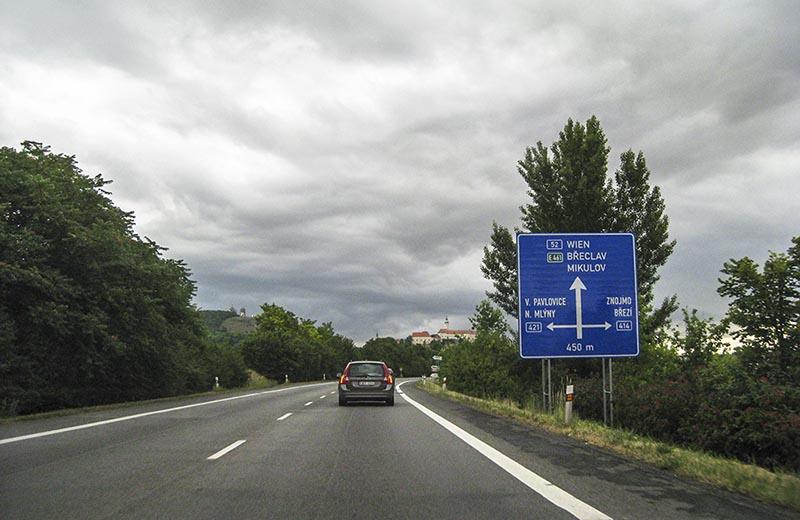 Väg 52 i Tjeckien