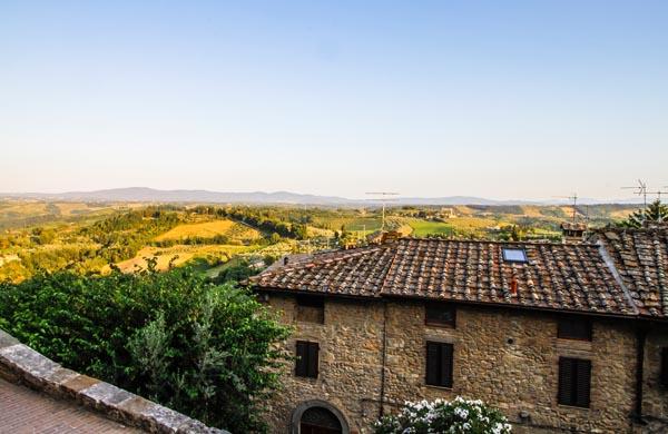Karta Italien Chianti.Toscana Pittoreska Byar Vingardar Ljuva Vyer Bilsemester Net