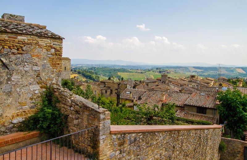 San Gimignano med sina karaktäristiska torn
