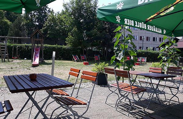 Waldhotel Wandlitz Biergarten