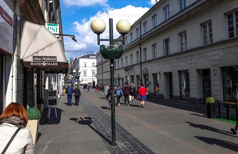 Shoppinggatan Ulica Chmielna