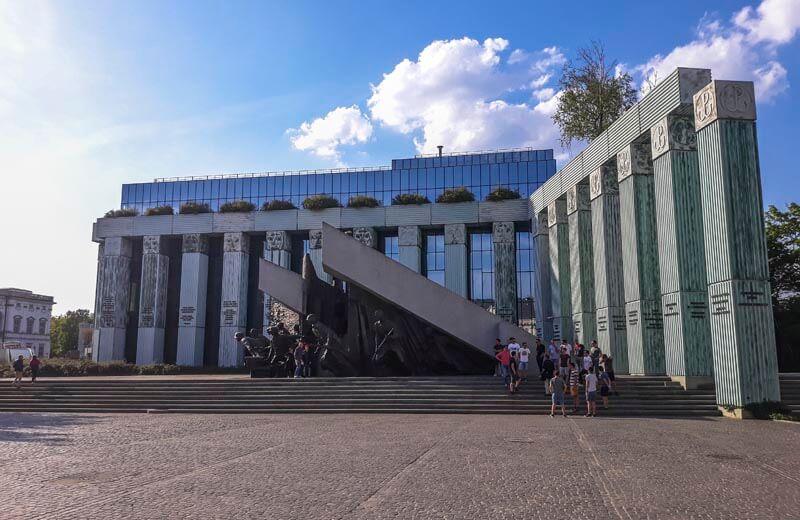 Upprors-monumentet Warszawa