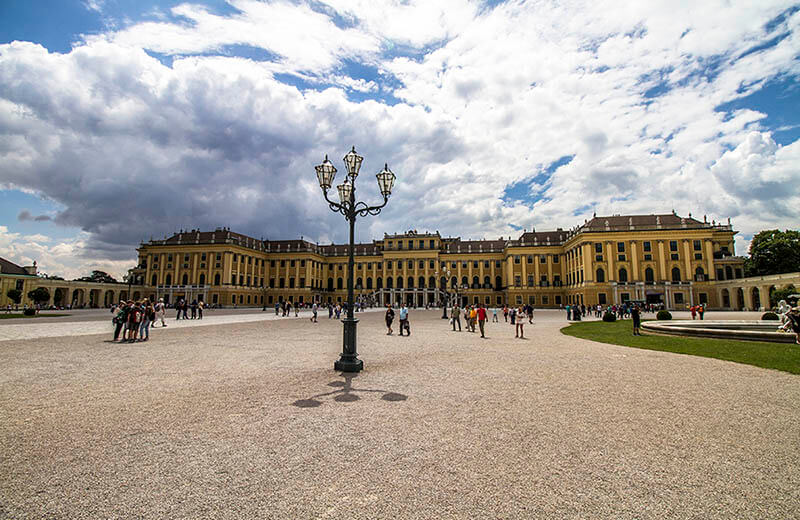 Schönbrunn i Wien