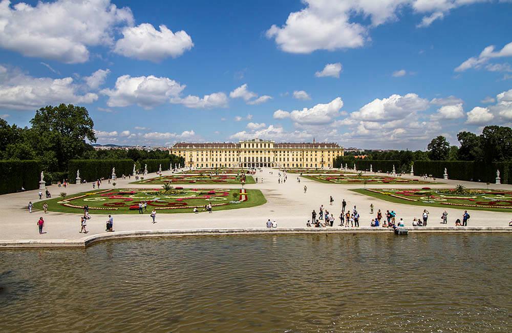 Schönsbrunns slottspark