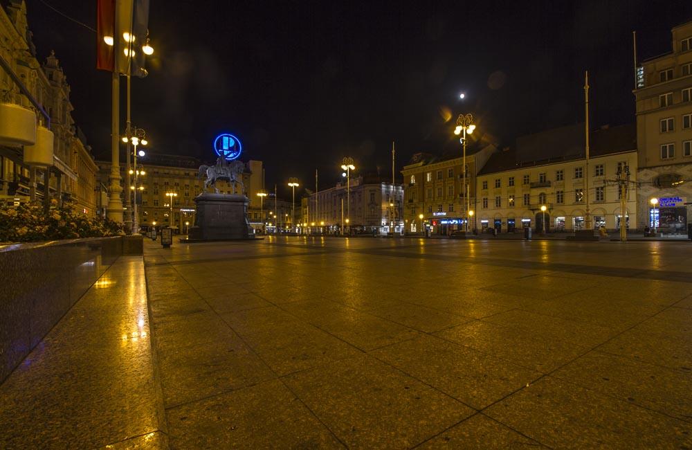Ban Jelačićs torg i Zagreb