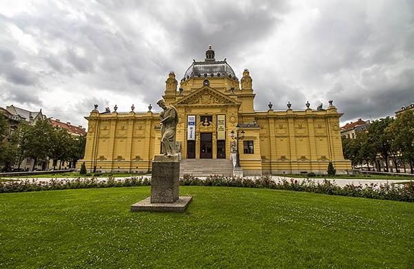 Konstpaviljongen i Zagreb