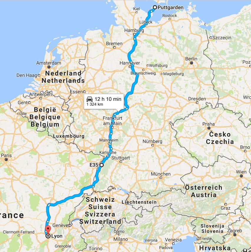 bila i europa karta Rutter och resvägar i Europa | Bilsemester.net bila i europa karta